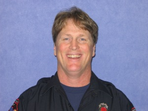 Firefighter Gary Chapman